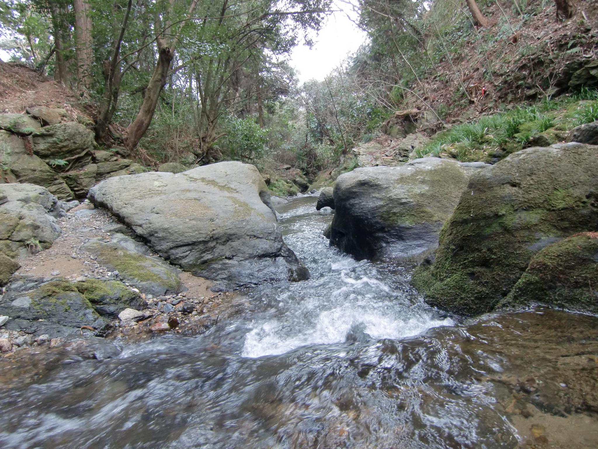 奈和県境の「飛び越え石」、そこに万葉人のまぼろし