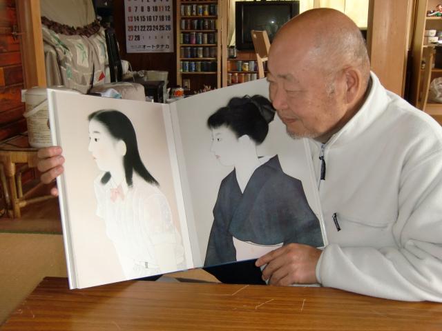 今も恩師を慕い、アマ・画家に徹す 日本画家・山内清治さん(69)(橋本市下兵庫)