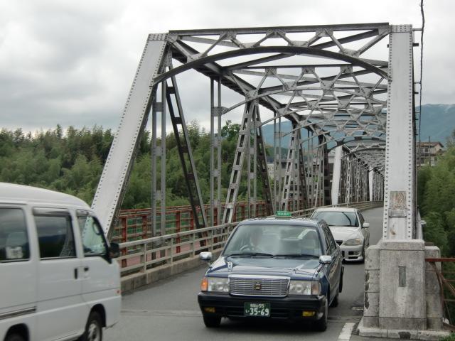 住民の悲願が実り架け替えられることになつた恋野橋