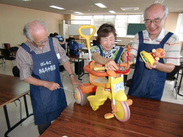 感激!おもちゃの治療~橋本市で〝開院〟2年