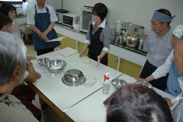 パン作り教室の案内書