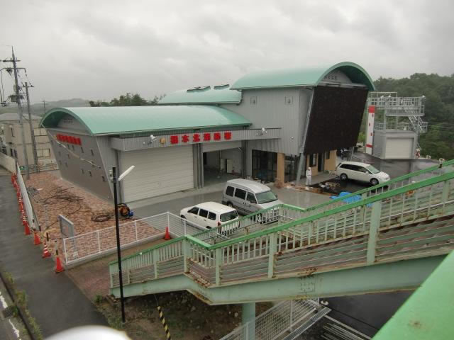 市北部の人命、財産を守るために新設された橋本北消防署