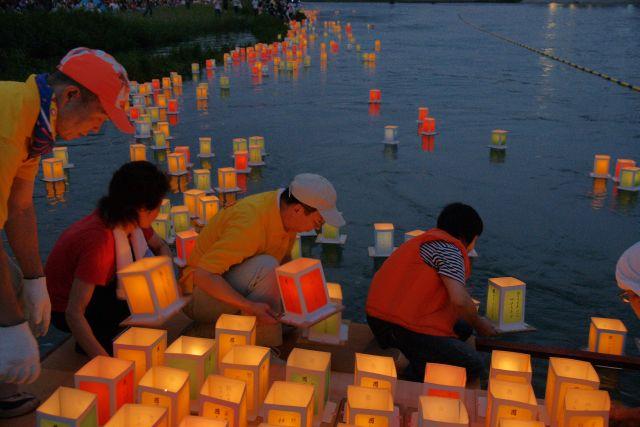 第60回紀の川祭の花火大会