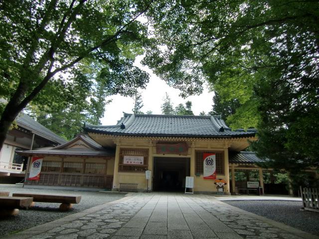 特別展「女性と高野山」を開催している高野山霊宝館