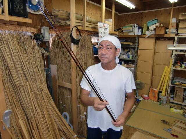 〝紀州へら竿〟を国伝統工芸品に~田中さん起源調査