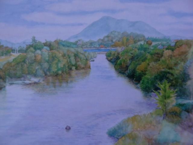 〝一滴の水〟堀江さん北海道で個展~風景など25点