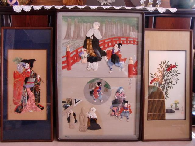 稲葉さんが制作した「石堂丸物語」などの作品