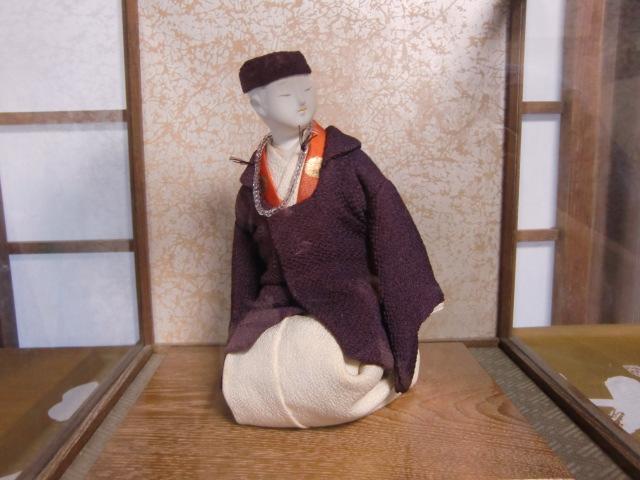 順教尼の容姿や雰囲気を上手に表わした「順教尼京人形」