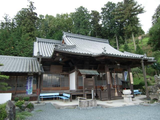石童丸物語を伝える学文路苅萱堂(西光寺境内)