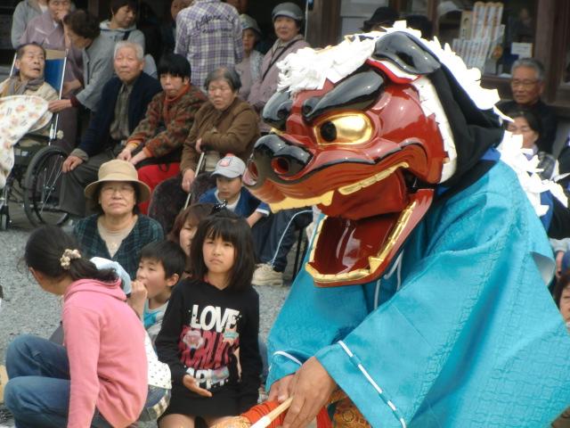 健康祈り獅子舞(重文)奉納~隅田八幡神社