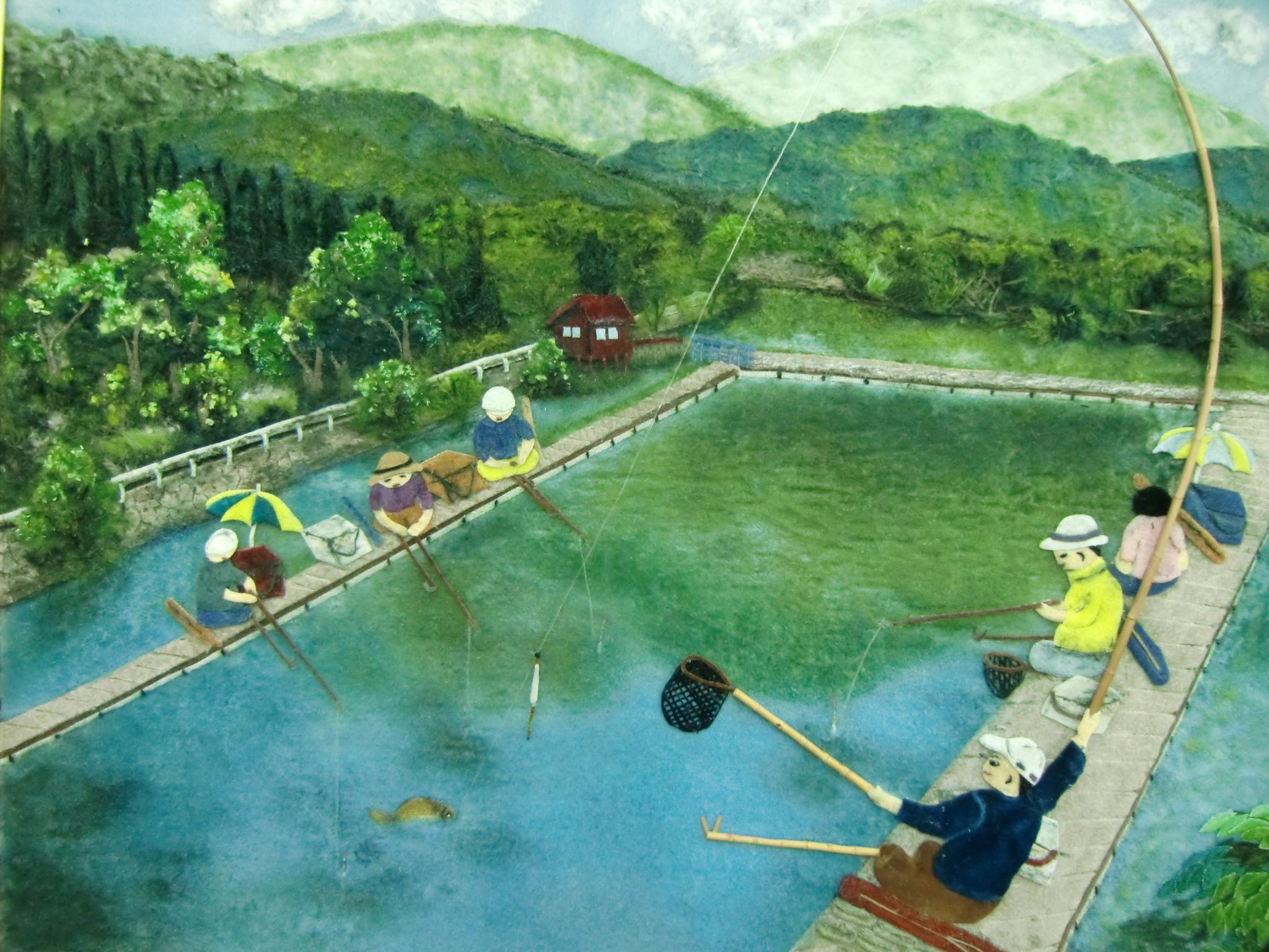 日本1の竹竿の橋本♪アジアヘラブナサミット開催へ