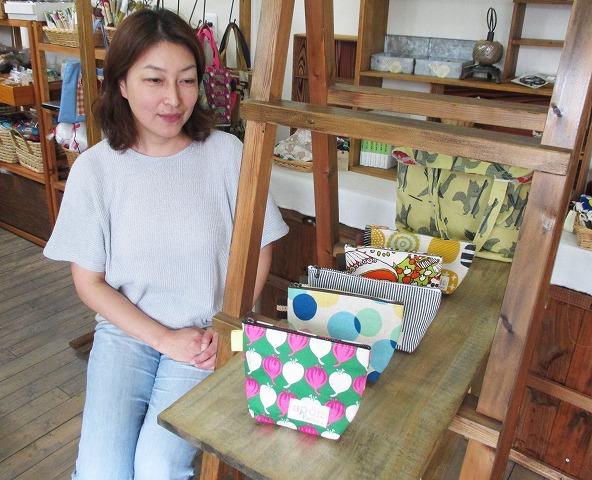 「おしらせ」陶芸や布小物…手作り市♪18日・九度山
