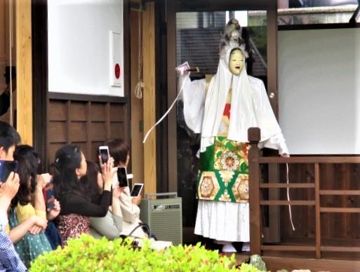 大石順教尼・没後50年企画展♪「青蓮」舞い踊る