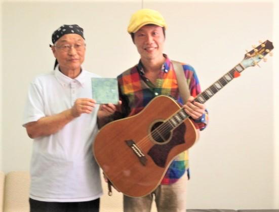 CD・Choji「風と土」発売♪はたごんぼ歌う