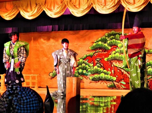 橋本市民狂言ユーモラス♪満場250人爆笑と拍手