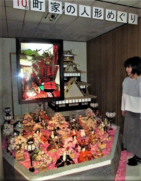 幸村…切り絵と光のコラボ♪1日~町家の人形めぐり