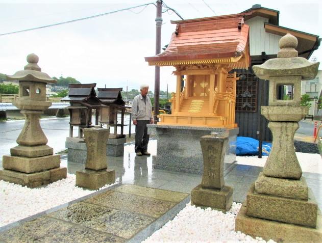 尊崇・太神社を復元再興♪応其上人の町に画龍点睛