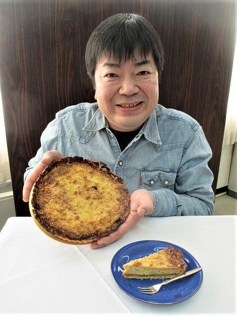 あんぽ柿のチーズタルト開発♪「福みみ」大西さん