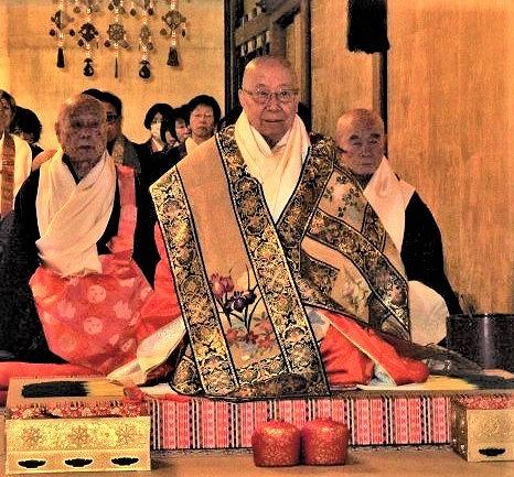 「人々を幸せに」葛西座主~金剛峯寺で晋山式厳かに