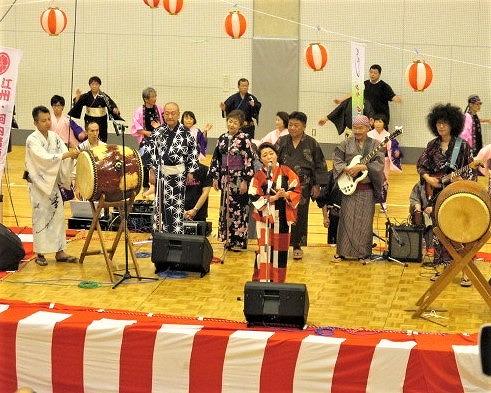橋本おどり・踊り初め♪志賀國一門と共に皆楽しく
