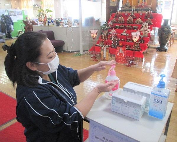 手洗い&マスク着用!橋本・新型コロナウイルス対策