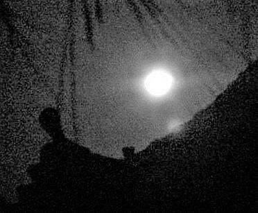 スーパームーン光明そそぐ!御守配布の妙楽寺の空