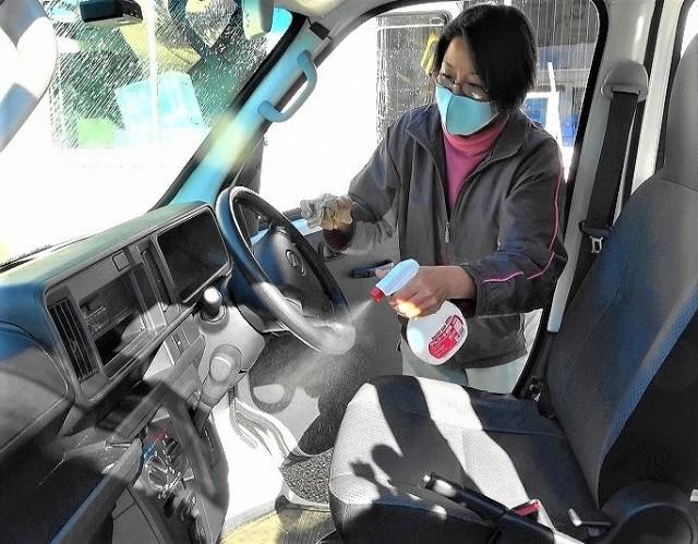 鳥インフルエンザ!橋本・養鶏関係車両消毒ポイント