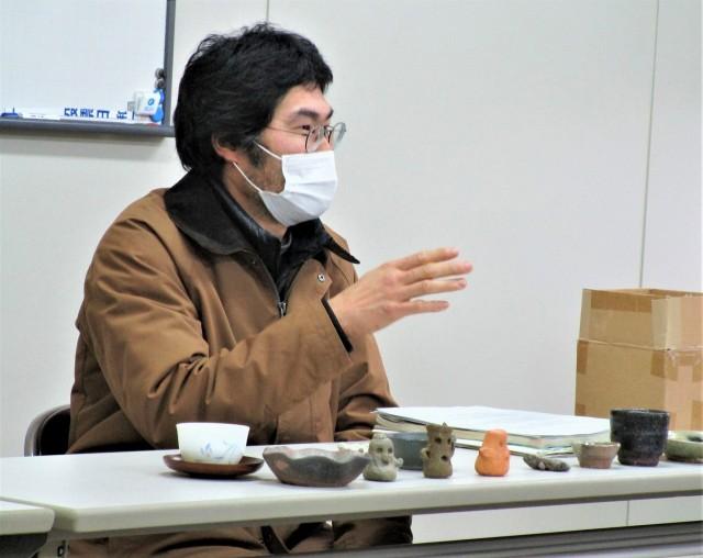紀伊半島の土で陶芸作品♡和田さん〜子供らにも教示