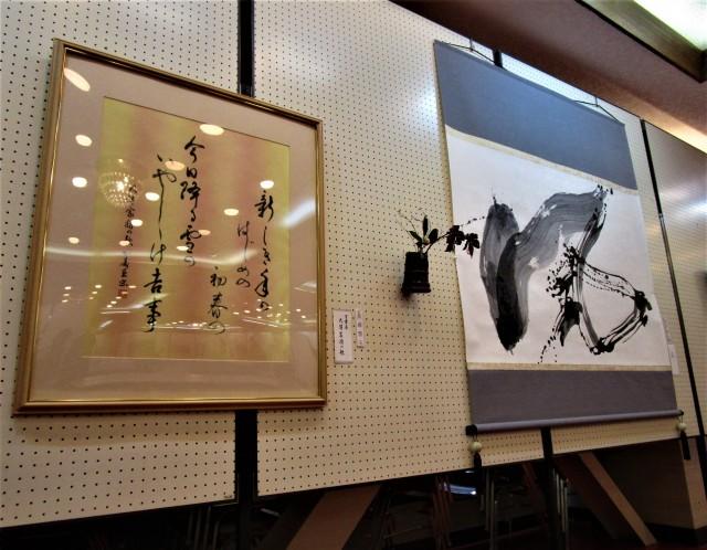 紀北文人展が開幕♡橋本・教育文館〜書画など心癒す