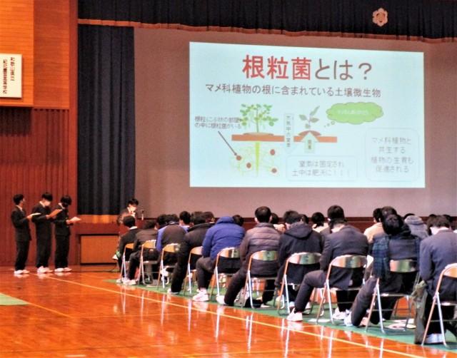 トマト加工や電動三輪…♡紀北農芸高校で研究発表会