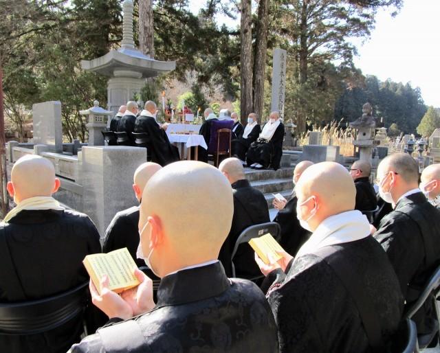 東日本大震災・高野山で追悼法会♡犠牲者忘れない